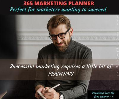 Download marketing planner 365 for free